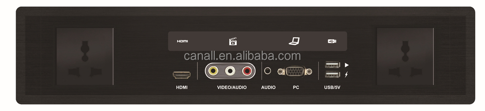 support CEC touch indicator HD8630 hotel connectivity panel