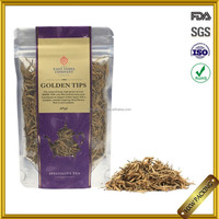 custom stand up ziplock tea bag packing
