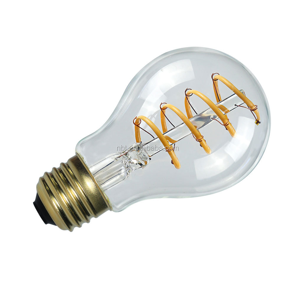 New revolutionary product 8W A60 E27 Dimmable led filament bulb,led filament 8w,e27 led lighting
