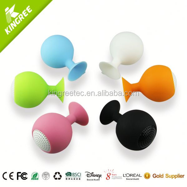 wholesale new ewa a102 bluetooth mini speaker silicone portable speaker from China factory