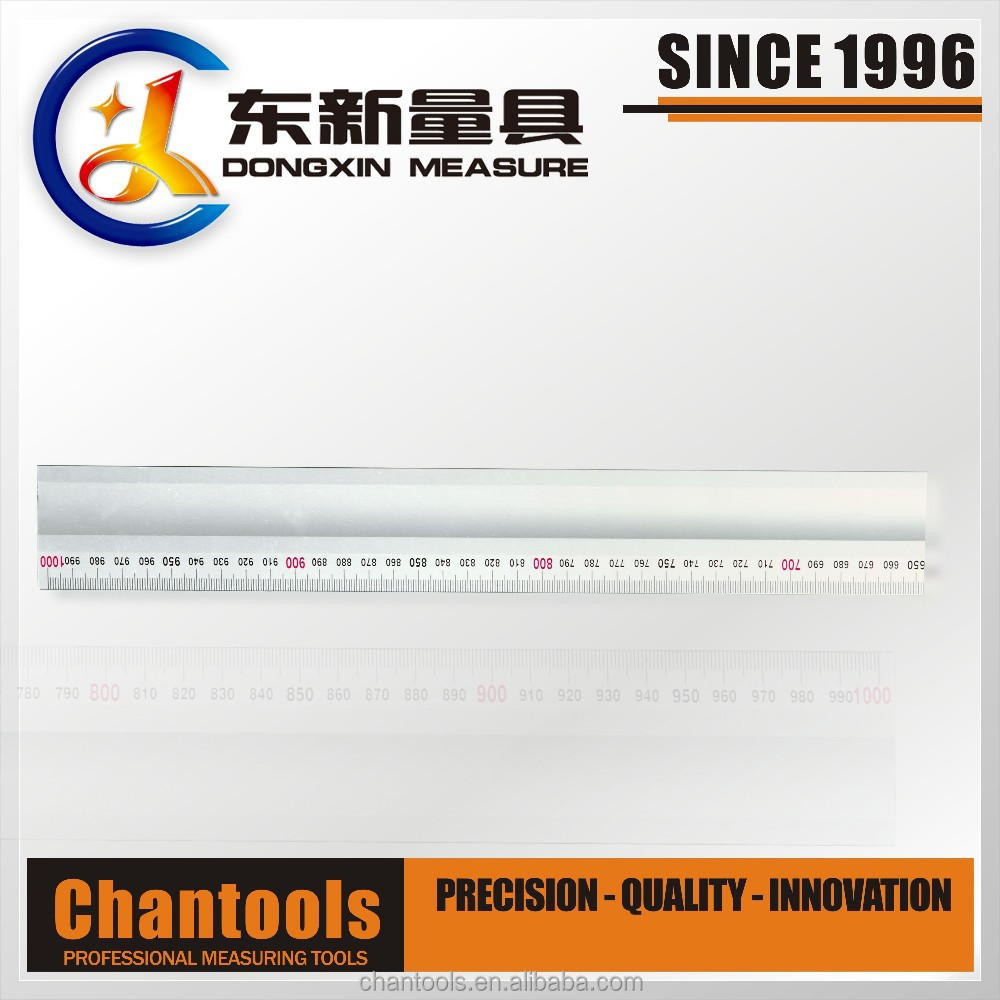 "[CHANT] 600MM/24"" High Grade Aluminiun Alloy Straight Edge/Ruler"
