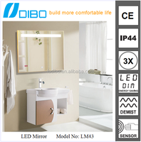 Modern high sales bathroom series led light dressing table mirror
