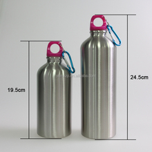 single wall plastic water bottles with sipper straw cap