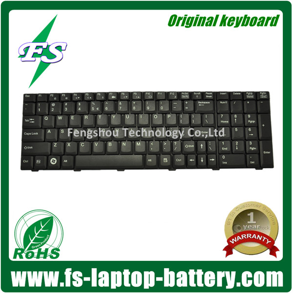 Hotsale K022627G1 US notebook keyboard for Fujitsu Siemens Amilo Xi2528