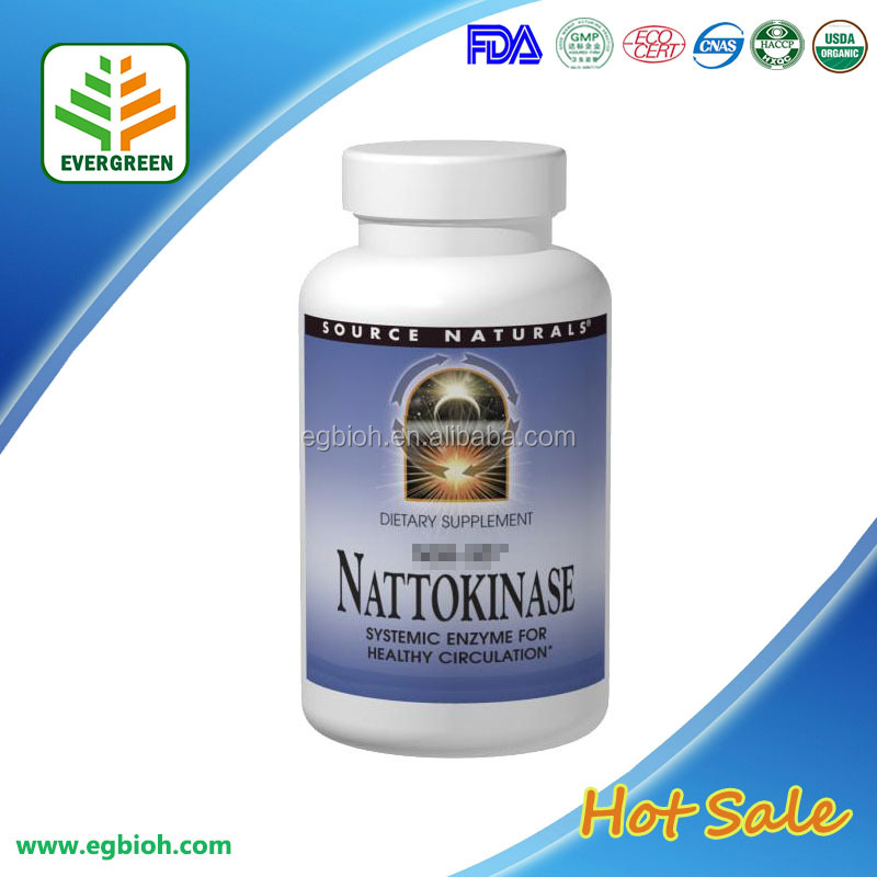 GMP Certified Natto ginkgo biloba extract softgel capsule