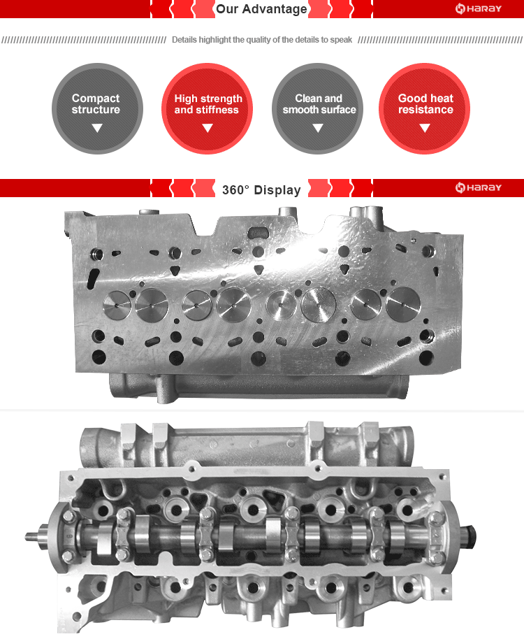 K9K 1.5DCI Complete Cylinder Head for Logan Dacia