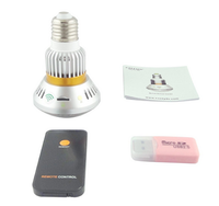 FHD 1080P mini hidden wifi camera security light bulb p2p ip camera