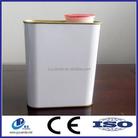 High Quality Metal Rectangular Oil Petrol Tin Can/Chemical Tin Box
