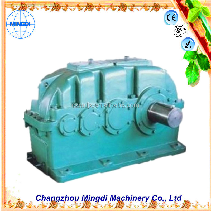 ZSY / ZDY/ ZFY/ ZLY Helical Cylindrical Speed Reducer Gear box Transmission Gearbox Parts with electric motor 12v 500w