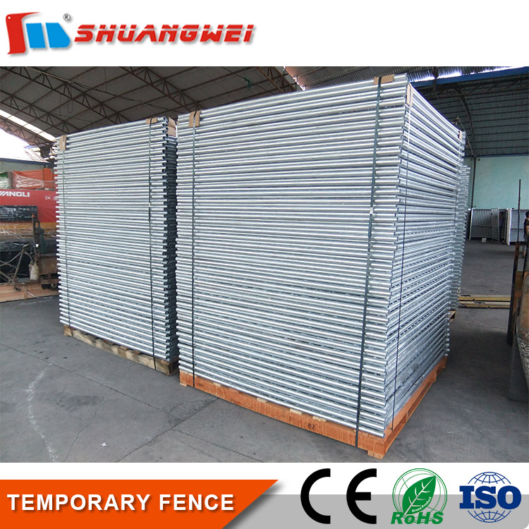 Hot sale Steel Chain Link Mesh Silver galvanized welded temporary fence