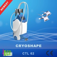 2 cryo handles Coollipolyis cryoshape Sculpt Lipo Cryolipo Cryotherapy freezing fat slimming machine