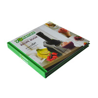 Printing Hardcover Cook Book/ Full Color Easy Cook Recipes Book Printing