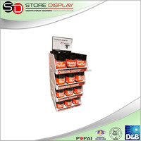 Point of purchase Powerful Eco-friendly retail floor display stand