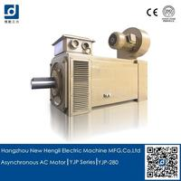 165kw three-phase asynchronous electric motor ac for aluminum foil rolling mill