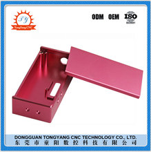 TYCNC Custom beautiful color aluminum anodized 1590B Box with new technology