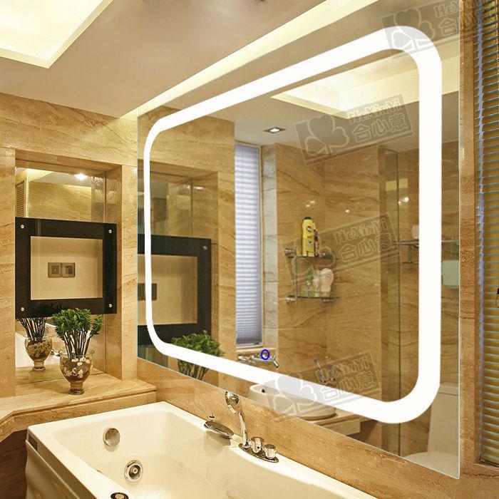 2015 new design luxury illuminated bathroom led mirror led01 buy illuminated mirror led mirror - Consider buying bathroom mirror ...