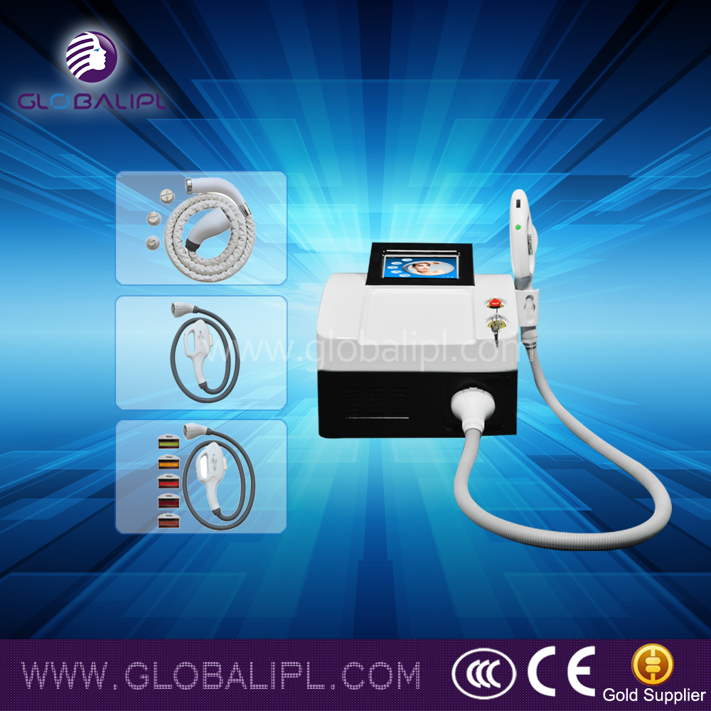e-light (combine ipl and rf) hair removal machine for beauty salon