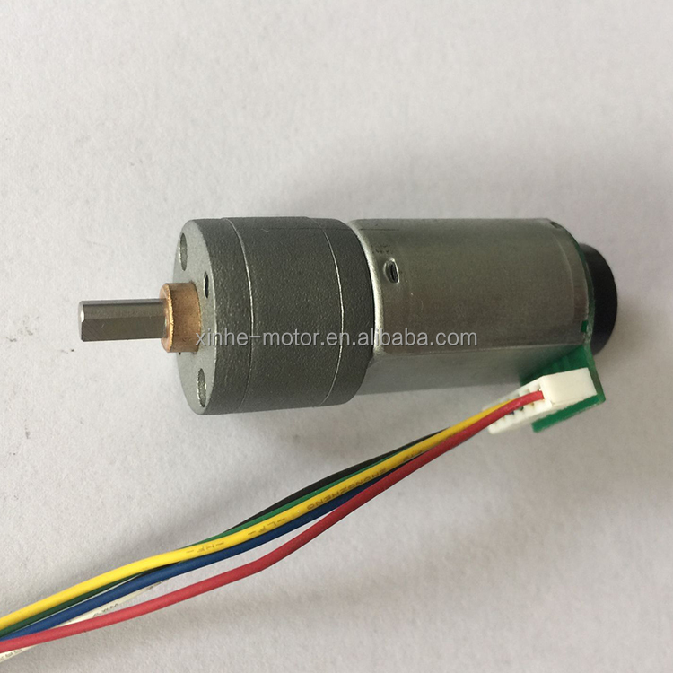 XINHE MOTOR 24v encoder gear motor w/encoder for paper shredder