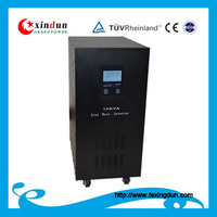 5kw 7kw 10kw 50/60HZ 110/220volt pure sine wave output solar inverter for home using