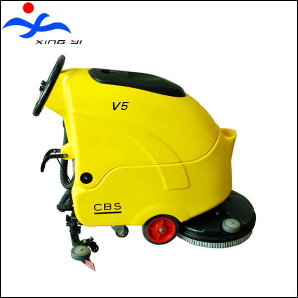 battery automatic floor scrubber machine sander polisher