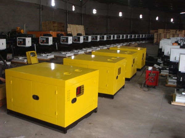 small silent diesel generator price list