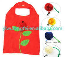 New Thickening Portable Cute Rose flower wedding gift Bags Eco Reusable Shopping Bag