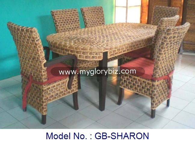 Rattan Furniture, Rattan Set, Rattan Dining Set
