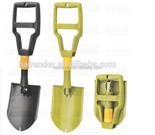 Zhejiang Carbon steel rescue folding shovel for garden,used to outdoor,camping or travel