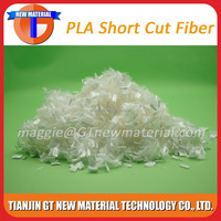 pla fiber, pla short cut fiber grade for wet wipes