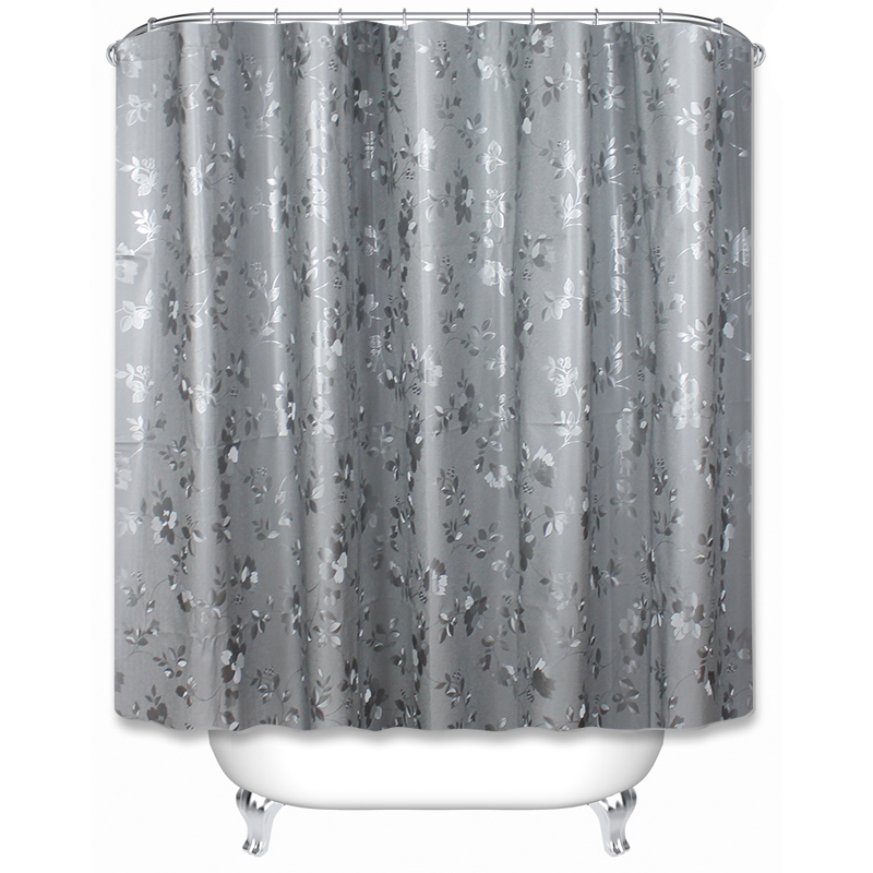 Newest waterproof and mildew proof home goods 2D shower curtains