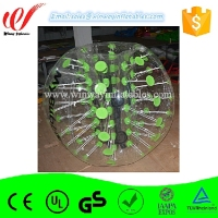 Specially designed TPU bumping zorbing bola, inflatable body bumper ball,bubble soccer ball BW7216
