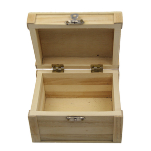 FSC&BSCI christmas empty pine wooden small storage gift boxes Organizer