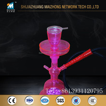 Pink al fakher all glass hookah new model in China