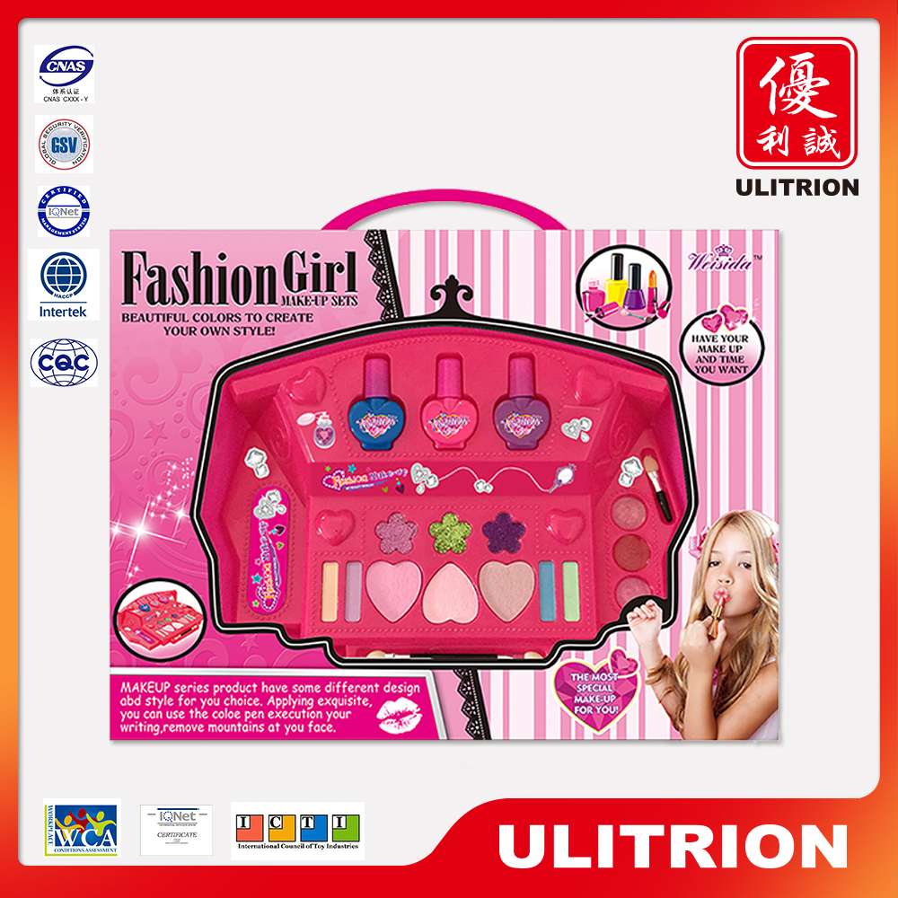 Wholesale girls pretend play make up kit toys, kids makeup toy for sale