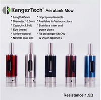 New Adjustable Airflow kangertech e-cigarette Emow Kanger emow