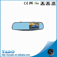 4.3 inch car dash camera dual lens web cam 1920 x 1080 full hd video wireless mini camera