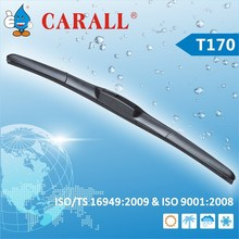 Car accessories part Hybrid universal wiper blade for all japanese car with three part ABS spoiler