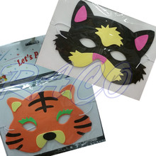 eco friendly funny rubber eva animal mask for kids party