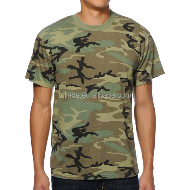 Outdoors Camouflage T Shirt Military Short Sleeve Sports O Neck Summer Printed Camp Tee Cheap Wholesale Camo T Shirts For Men