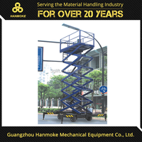 High quality adjustable work platform portable professional manufacturer hydraulic lifting platform small platform scissor lift