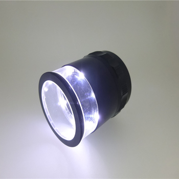 2017 Most Popular 10x led scale loupe handhels with