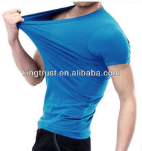 China factory manufacture cheap price mens knitted garments sport t shirts softextile racing t shirts promotional