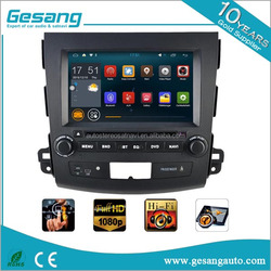 Android car radio dvd gps navigation system for MITSUBISHI OUTLANDER