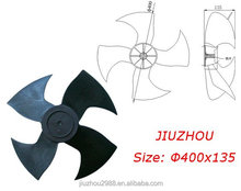 400x130-8mm axial flow fan blade for 12000BTU air conditioner with RoHS