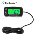 gasoline Hour Meter Tachometer for ATV UTV dirtbike motorbike motocycle outboards snowmobile pitbike PWC marine boat