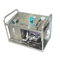 Air Booster Pump Valve Hydrostatic Pressure Test Machine for Cylinder
