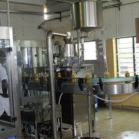Lemonade Orange Fruit Juice Bottling Plant