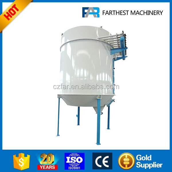 Poutlry Feed Mill Drum Pulse Dust Collector With Dust Filter Bag