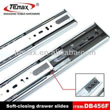 Full extension soft close office desk drawer slides