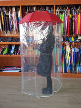 23inch full body umbrella with poe material umbrella and whole body umbrella